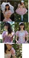 Dusty Rose Dress by sakurafairy