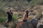Photo Shoot in Desert by tannermedia