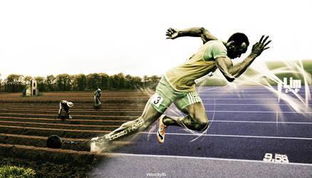 Usain Bolt by AndreaSorrentino