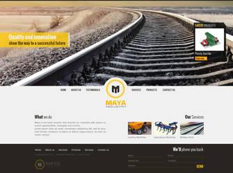 Maya Industry by Creativeacron
