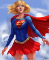 Supergirl by ymslwn