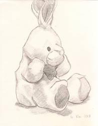 Stuffed bunny by Novembre17