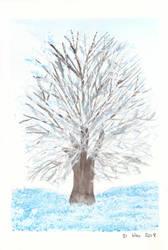 Winter tree by Novembre17