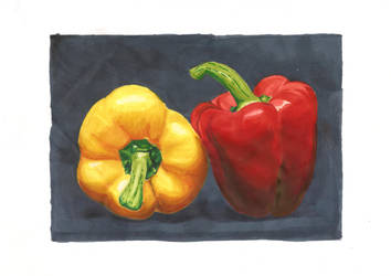 Bell peppers by Novembre17