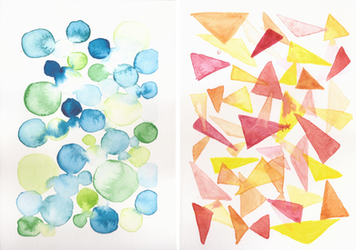 Watercolor practice by Novembre17