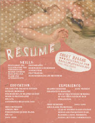 Resume by cheektocheek