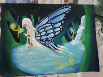 Art class contest - Fairy by selinacch98