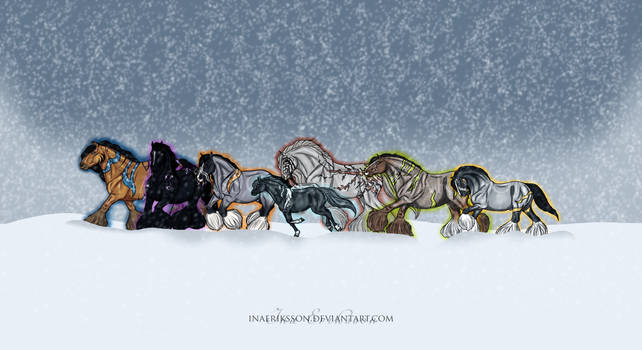 first snow of the year by inapatricia