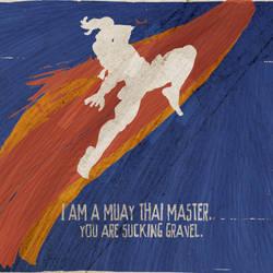 Adon, A Muay Thai Master by ryanpaulthompson
