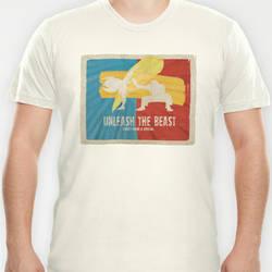 Unleash The Beast Evo/Street Fighter Inspired Shrt by ryanpaulthompson