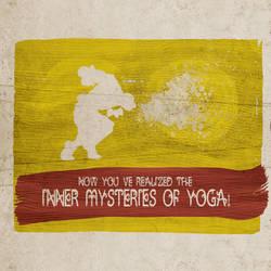 Dhalsim Control's Yoga's Inner Mysteries by ryanpaulthompson