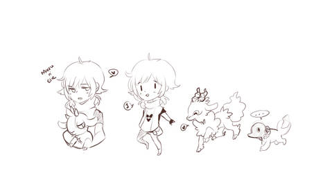 Pokemon sage by myneea