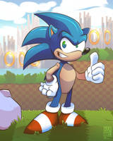 Sonic by geogant
