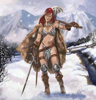 Red Sonja by Inhuman00