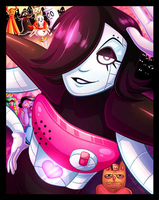 Mettaton EX Poster by Simina-Cindy