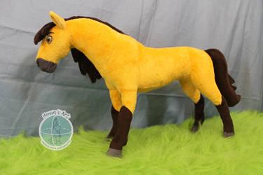 Spirit: Stallion of the Cimarron plush by Tedimo