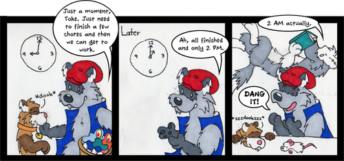 Loose Ferrets - 72 by Traxer