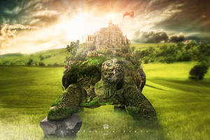 Turtle Castle by 35-Elissandro