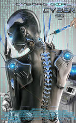 Making of Photoshop Tutorial Cyborg Advanced level by 35-Elissandro