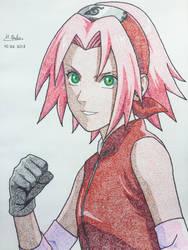 Sakura Haruno by H-OuSa