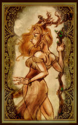 :-: Forest Guardian :-: by Gypsy-Rae