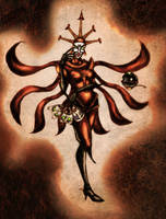 +Queen of Chaos+ :Hexadecimal: by Gypsy-Rae
