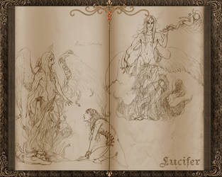 CV: Lucifer sketches by Gypsy-Rae
