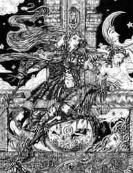 Moon Room Waltz :Inked: by Gypsy-Rae