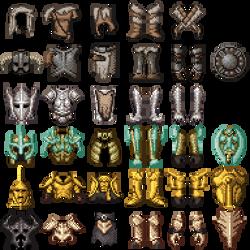 Skyrim Armour pixel art by TdeLeeuw