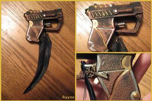 Steampunk gun by zigidity
