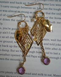 charms earrings by meganhor