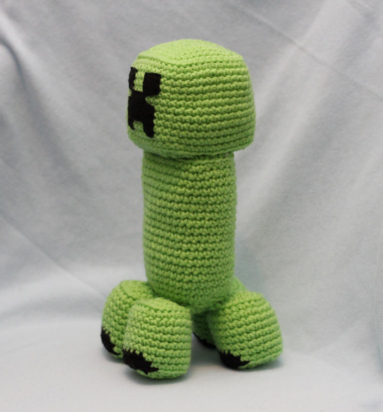 Minecraft Creeper Handmadecustom Crochet Plush By Hannahandcrafts
