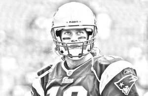 Tom Brady by Hstar4art