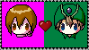 Kari x T.K. Stamp by SugerBubbles
