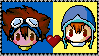 Sora x Tai Stamp by SugerBubbles