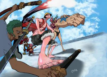 One Piece: Enies Lobby by jets