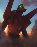 Eva Unit 02 by jets