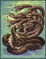 Tremorworks: Hydra colored by rachaelm5