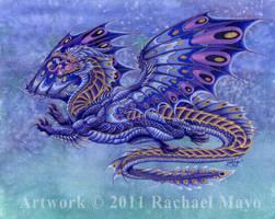Saltar dragon design by rachaelm5