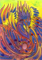 ACEO Phoenix 04 by rachaelm5