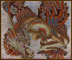 North Sea Dragon by rachaelm5