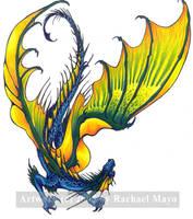 Guardian 3 Dragon Design by rachaelm5
