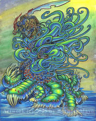 Predator: Tentacle Attack! by rachaelm5