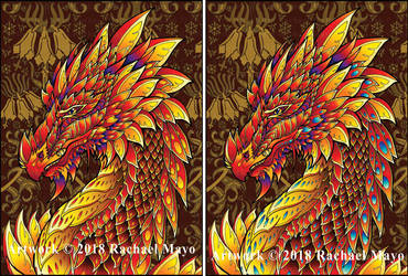 Forest Dragon cover set by rachaelm5