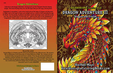 Dragon Adventure 3 coloring book by rachaelm5