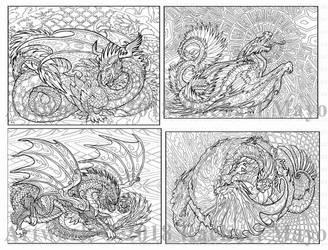 Dragon Adventure 3 sampler 01 by rachaelm5