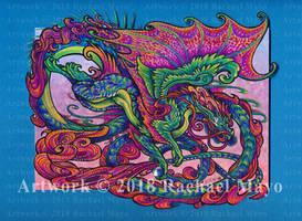 Dragon Dance 06 color by rachaelm5