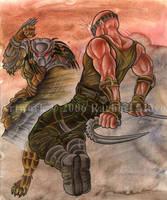 Predator vs Riddick by rachaelm5