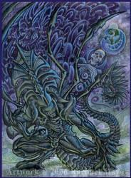 Alien: Pater Patronus color by rachaelm5