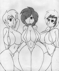 Bikini Goths by Dmmendez90